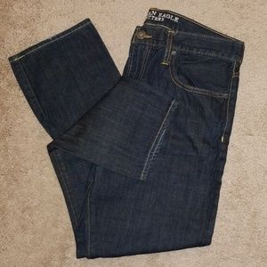 American Eagle Dark Blue Jeans Men Size 34×30 Slim